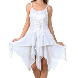 ADVANCE Bodice Handkerchief Dress - NWT!